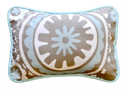 Suzani Decorative Pillow | Picket Fence Crib Collection