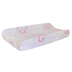 Pink Changing Pad Cover | Pink Desert Rose Crib Collection