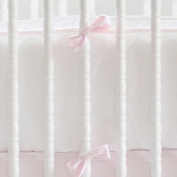 Pink Paris Crib Bumper