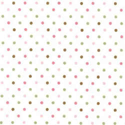 Pink Dot Flannel Fabric