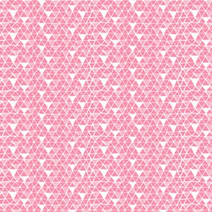 Blend Fabric Snow Day Fishing Net Pink | Fabric by the Yard | Maude Asbury