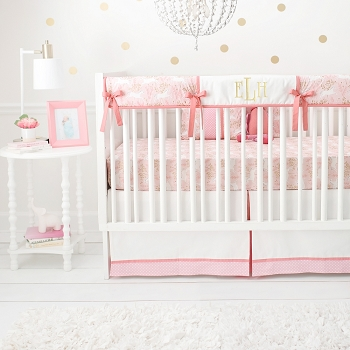 Crib Rail Guard Set | Unicorn in Pink Collection