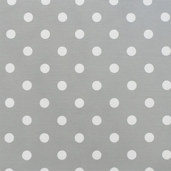 Gray Polka Dot Fabric | Premier Prints Polka Dot Storm/White