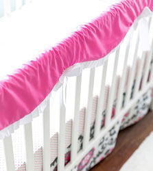 Ragamuffin Crib Rail Cover