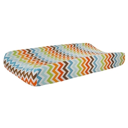 Retro Chevron Changing Pad Cover