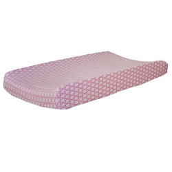 Pink Changing Pad Cover | Pink Sorbet Crib Collection