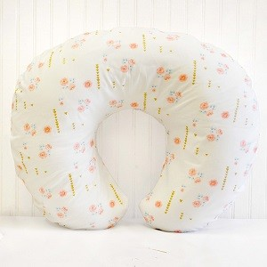 Floral Nursing Pillow Slipcover | Rosemilk Collection