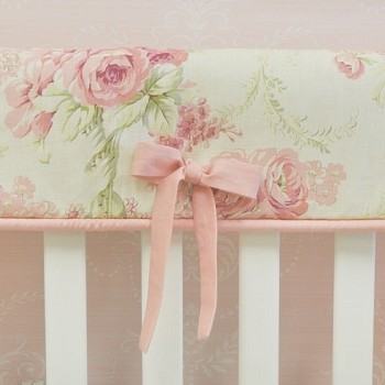 Rose Floral Rail Guard | Roses for Bella Collection