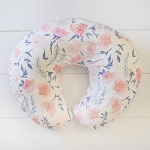 Floral Nursing Pillow Slip Covers | Rosewater in Peach Collection