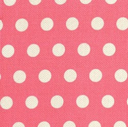 Bubble Gum Polka Dot Fabrics