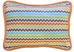 Multi Chevron Accent Pillow  |  Sante Fe Crib Collection