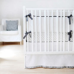 White and Grey Nursery Set | Sweet & Simple Collection