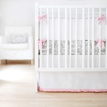 Pink and Grey Baby Nursery Set | Sweet & Simple Collection