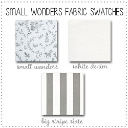 Small Wonders Collection Fabric Swatches Only