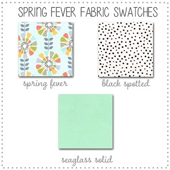 Spring Fever Bedding Collection Fabric Swatches Only