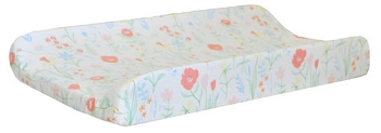 Floral Changing Pad Cover  |  Spring Floral Crib Collection