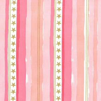 Michael Miller | Stars and Stripes in Pink
