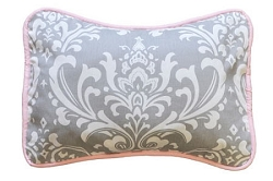 Stella Gray Throw Pillow