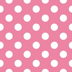 Riley Blake Medium Dots in Hot Pink | Sugarland Dot