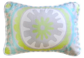 Floral Throw Pillow | Summer Breeze Crib Collection