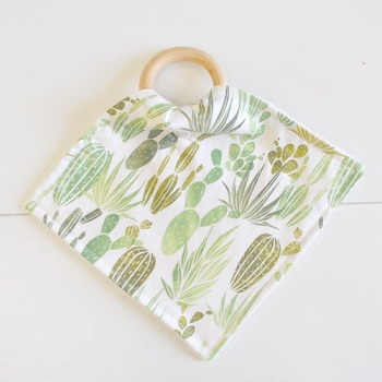 Cactus Teething Blankets | Desert Dawn Grass Collection