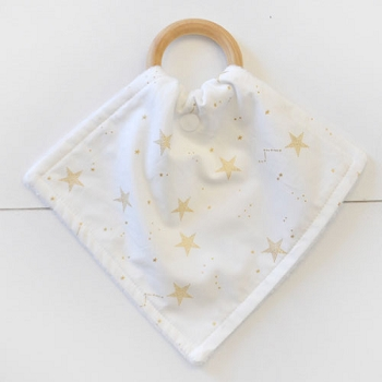 Gold Star Teething Blankets | You Are Magic Collection