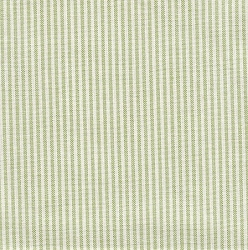 Thin Green and White Stripe Changing Pad