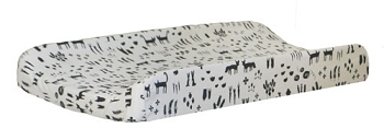 Black Tribal Changing Pad Cover | This and That Collection