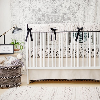 Black Tribal Nursery Set | This and That Crib Collection