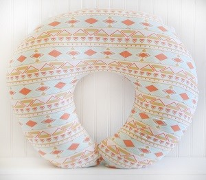 Tribal Nursing Pillow Cover| Tribal Study Aura Crib Collection