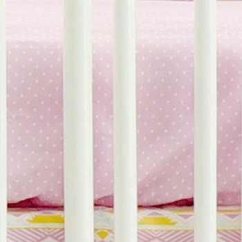 Lavender Polka Dot Crib Sheet | Tribal Study Jewel Collection