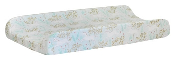 Mint and Gold Changing Pad Cover | Unicorn in Mint Collection