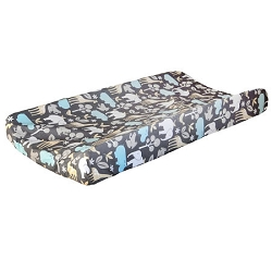 Jungle Animal Changing Pad Cover  |  Urban Zoo Crib Collection