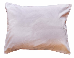 Wale Corduroy in Soft Pink Standard Pillow Sham