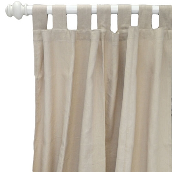 Linen Curtains | Washed Linen in Flax Collection