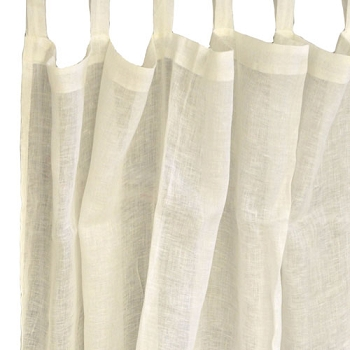 Ivory Linen Curtain Panels | Whisper in Ivory