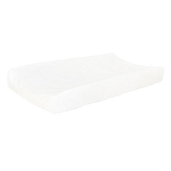 100% Cotton White Changing Pad Cover  |  Madison Avenue Crib Collection