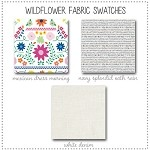 Wildflower Crib Collection Fabric Swatches Only