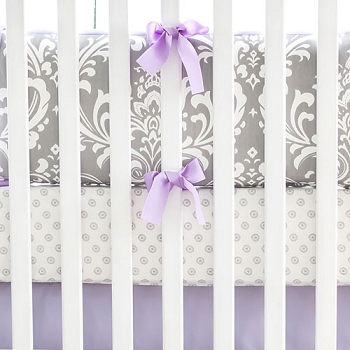 Lavender Nursery Set | Wisteria in Lavender Collection
