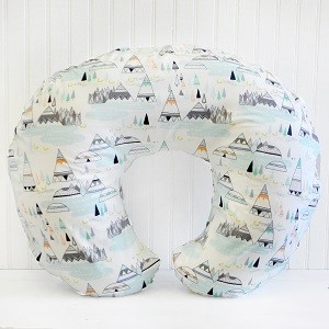 Woodland Nursing Pillow Cover | Woodland in Pine Crib Collection