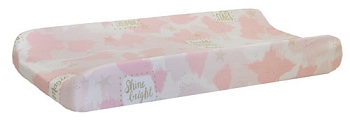 Pink and Gold Changing Pad Cover | You are Magic in Pink Collection