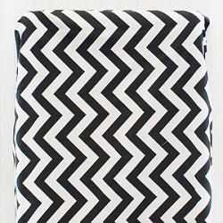 Black And White Chevron Changing Pad Cover