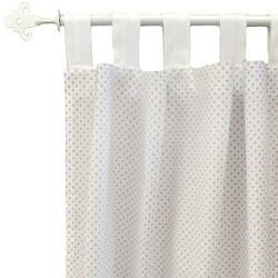 Lavender Chevron Curtain Panels  |  Zig Zag Baby in Lavender Crib Collection