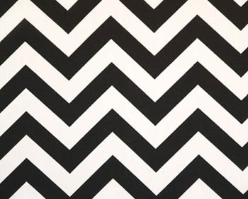 Black Chevron Fabric | Premier Prints  Black Twill