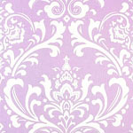 Wisteria in Lavender Crib Sheet
