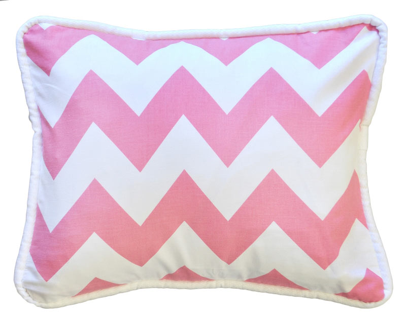 Baby Pink Decorative Pillows : Pink Chevron Throw Pillow Pink Throw Pillow Pink Pillow