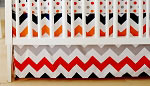 Zig Zag Baby in Rugby Crib Skirt