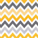 Zig Zag in Yellow & Gray