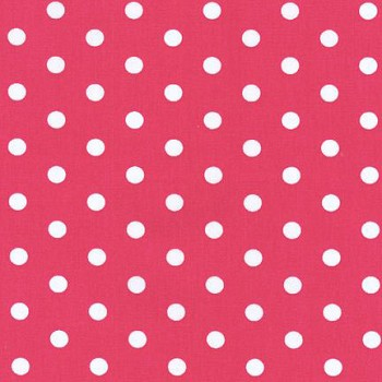 Raspberry Polka Dot