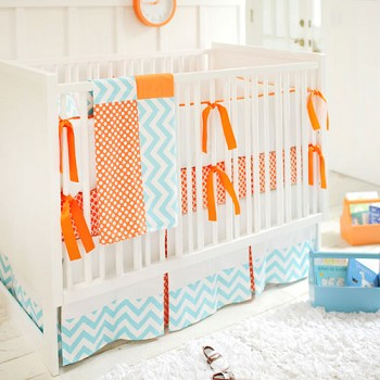 Orange Baby Bedding | Orange Crush Collection